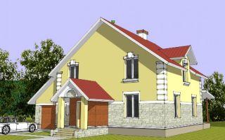 Проект мансардного дома 217 кв.м — 102-217