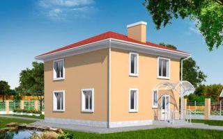 Проект двухэтажного дома 142 кв.м — 106-142