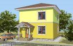 Проект двухэтажного дома 89 кв.м — 101-089
