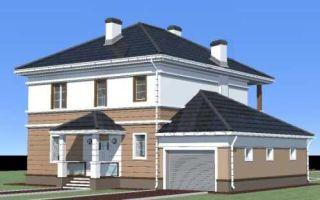 Проект двухэтажного дома 181 кв.м — 101-181