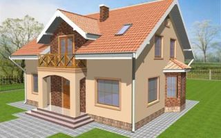 Проект мансардного дома 182 кв.м — 102-182