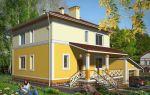 Проект двухэтажного дома 167 кв.м — 101-167