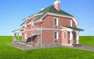 Проект мансардного дома 258 кв.м — 101-258