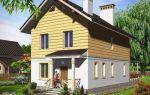 Проект двухэтажного дома 120 кв.м — 104-120
