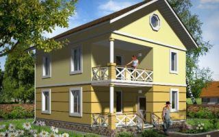 Проект двухэтажного дома 123 кв.м — 102-123