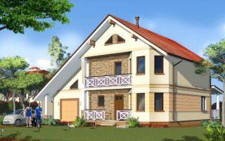 Проект двухэтажного дома 196 кв.м — 101-198