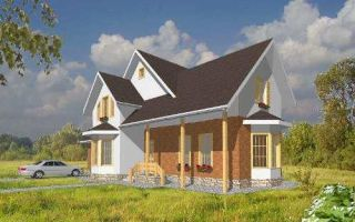 Проект мансардного дома 215 кв.м — 101-215