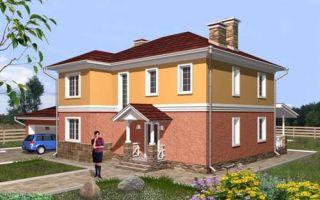 Проект двухэтажного дома 261 кв.м — 101-261