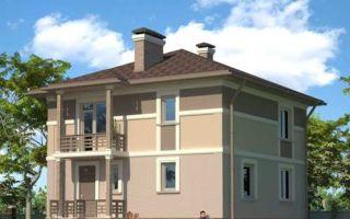 Проект двухэтажного дома 142 кв.м — 105-142