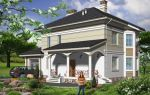 Проект двухэтажного дома 201 кв.м — 102-201