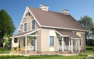 Проект мансардного дома 151 кв.м — 105-151