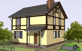 Проект двухэтажного дома 125 кв.м — 101-125