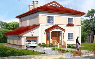 Проект двухэтажного дома 203 кв.м — 101-203