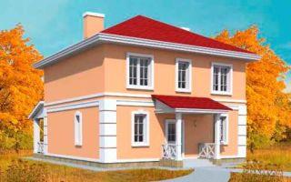 Проект двухэтажного дома 153 кв.м — 101-153