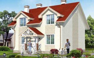 Проект двухэтажного дома 136 кв.м — 101-136