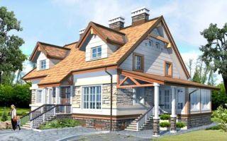 Проект мансардного дома 349 кв.м — 101-349