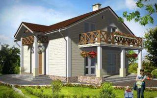 Проект мансардного дома 145 кв.м — 101-145