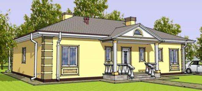 Проект одноэтажного дома 145 кв.м — 104-145