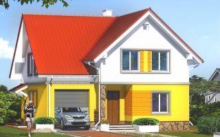 Проект мансардного дома 175 кв.м — 103-175