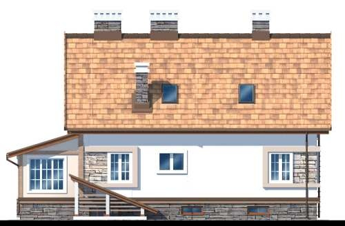 Фасад дома 3