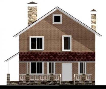 Фасад дома 1
