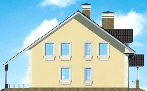Фасад дома 4