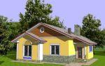 Проект одноэтажного дома 98 кв.м — 101-098