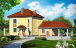 Проект двухэтажного дома 138 кв.м — 104-138