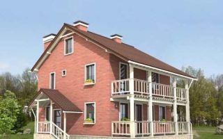 Проект двухэтажного дома 165 кв.м — 102-165