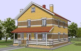 Проект двухэтажного дома 145 кв.м — 103-145