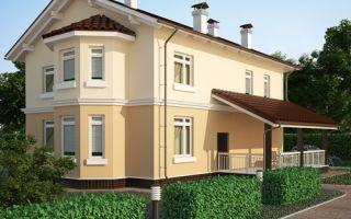 Проект двухэтажного дома 208 кв.м — 101-208