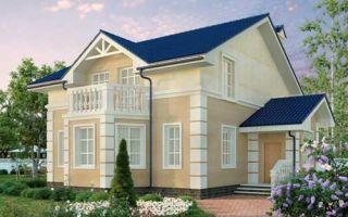 Проект мансардного дома 183 кв.м — 101-183