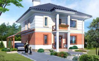 Проект двухэтажного дома 147 кв.м — 103-147