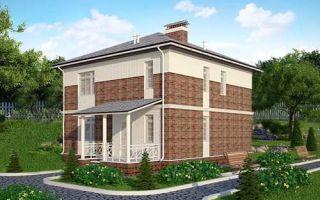 Проект двухэтажного дома 146 кв.м — 101-146