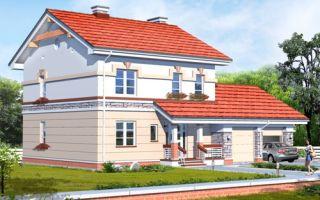 Проект двухэтажного дома 190 кв.м — 102-190