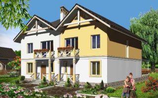 Проект дома двухэтажного 249 кв.м — 102-249