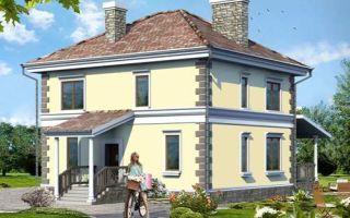 Проект двухэтажного дома 141 кв.м — 102-141