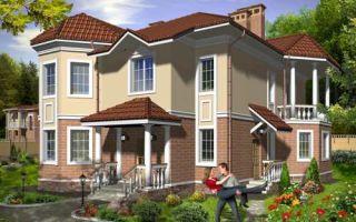 Проект двухэтажного дома 212 кв.м — 102-211