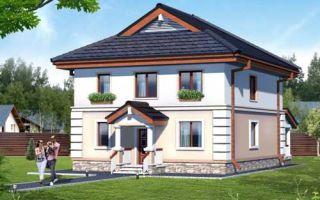 Проект двухэтажного дома 178 кв.м — 102-178