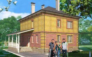 Проект двухэтажного дома 141 кв.м — 103-141