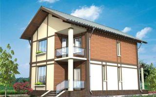 Проект двухэтажного дома 104 кв.м — 101-104