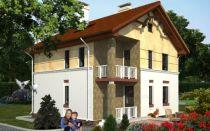 Проект двухэтажного дома 130 кв.м — 102-130
