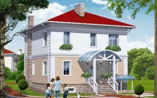 Проект двухэтажного дома 205 кв.м — 102-205