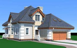 Проект мансардного дома 262 кв.м — 101-262