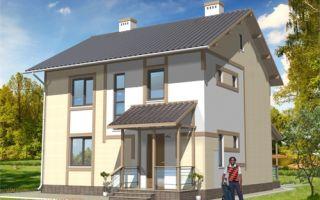 Проект двухэтажного дома 116 кв.м — 101-116