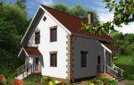 Проект дома с мансардой 110 кв.м — 101-110