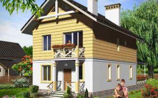 Проект двухэтажного дома 123 кв.м — 101-123