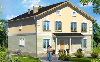 Проект двухэтажного дома 255 кв.м — 101-255