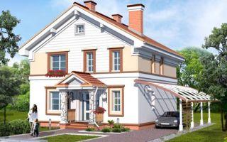 Проект двухэтажного дома 147 кв.м — 104-147