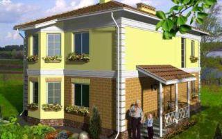 Проект двухэтажного дома 143 кв.м — 103-143